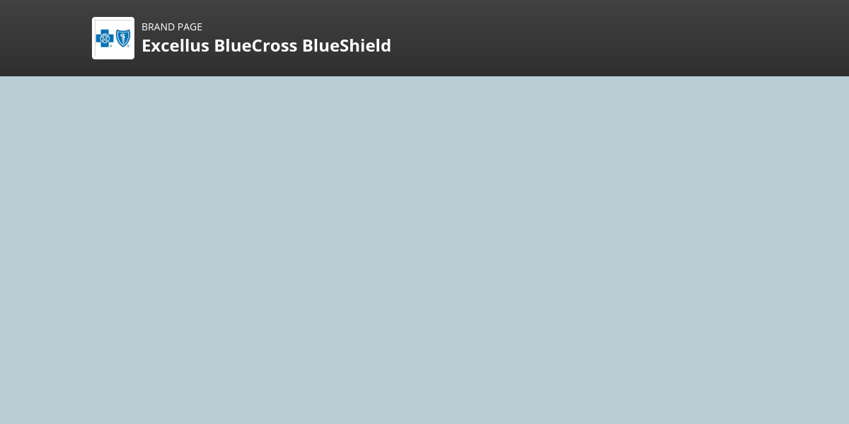 Excellus BlueCross BlueShield Brand | Comparably