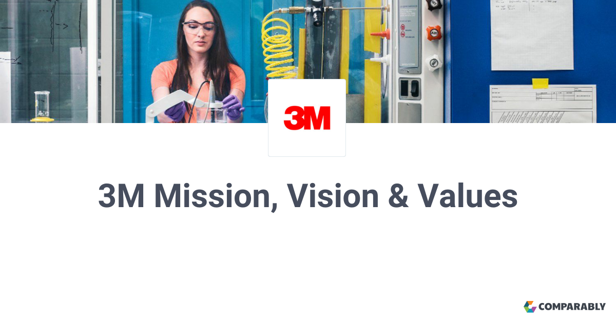 3m mission vision values comparably