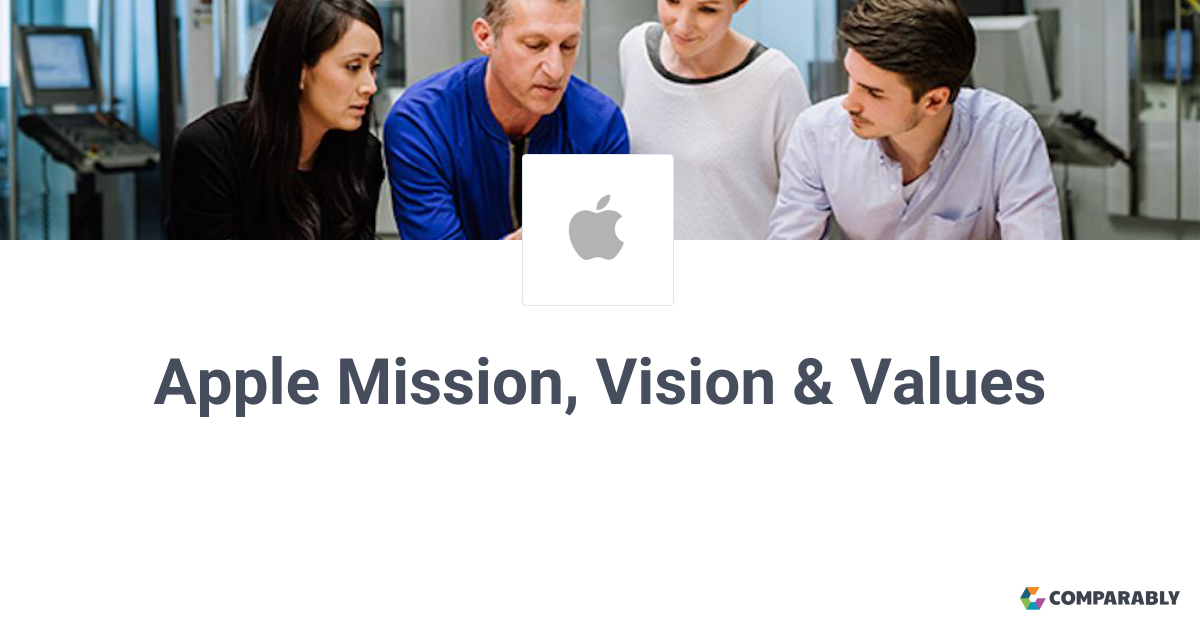 apple inc mission vision and values
