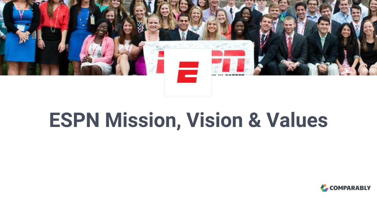 ESPN Mission, Vision & Values | Comparably