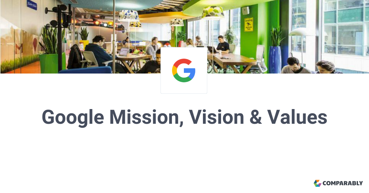 what is googles vision statement
