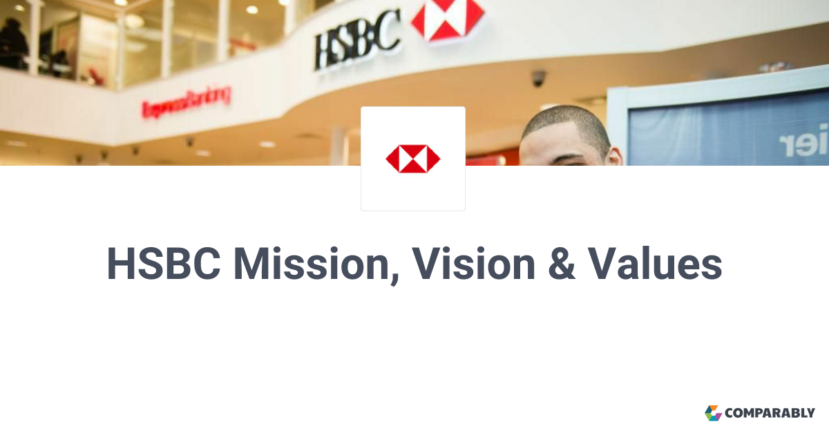 HSBC Mission, Vision & Values | Comparably