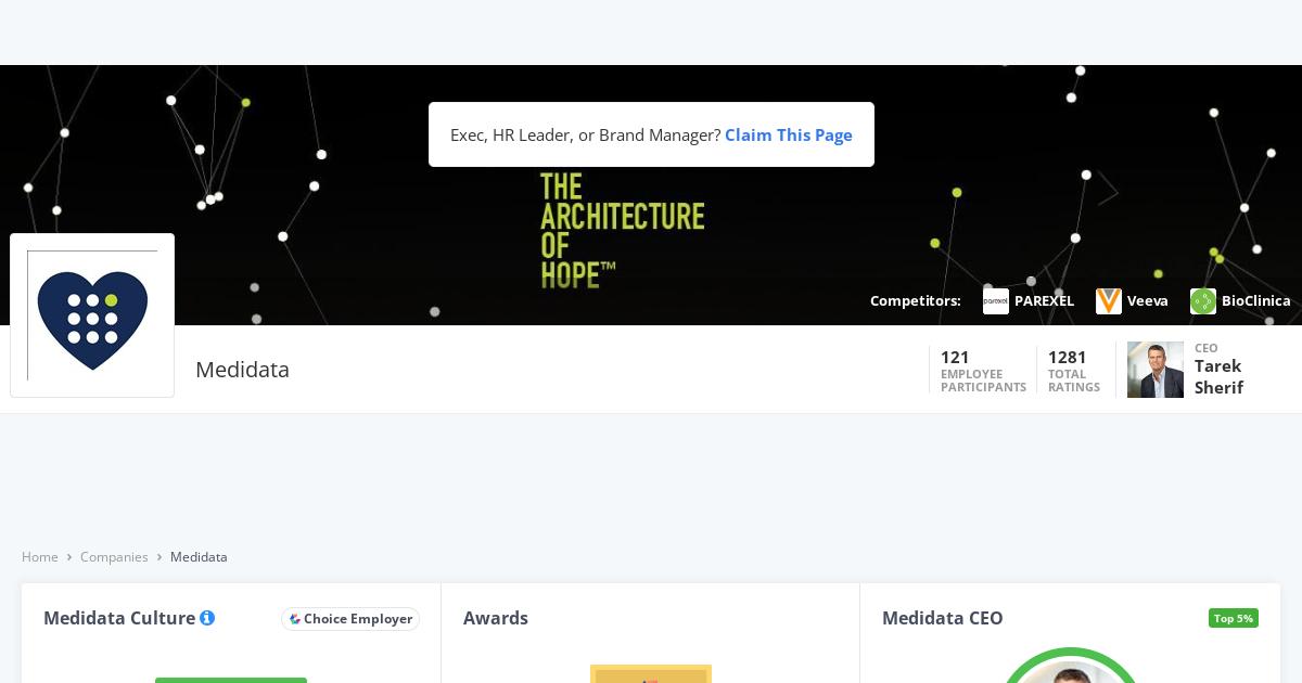 Medidata Solutions H1B Visa | Comparably