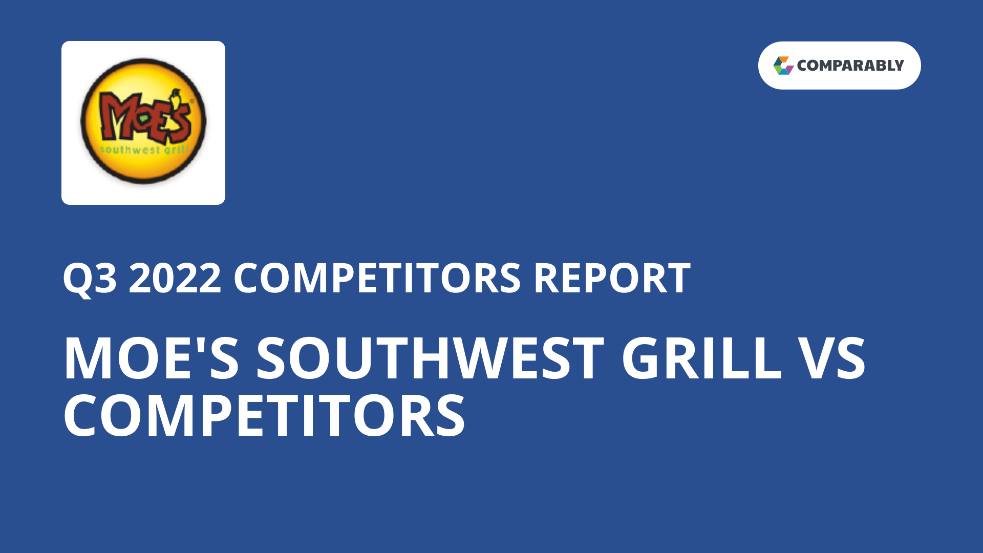 Moe S Southwest Grill Competitors Comparably
