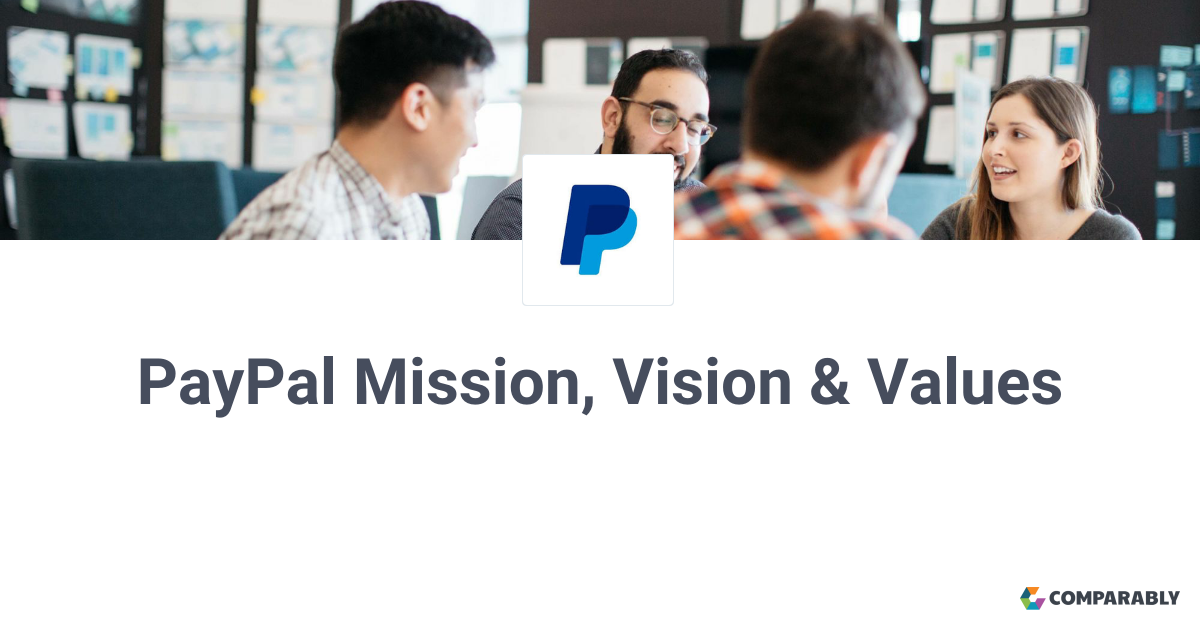 PayPal Mission, Vision & Values | Comparably