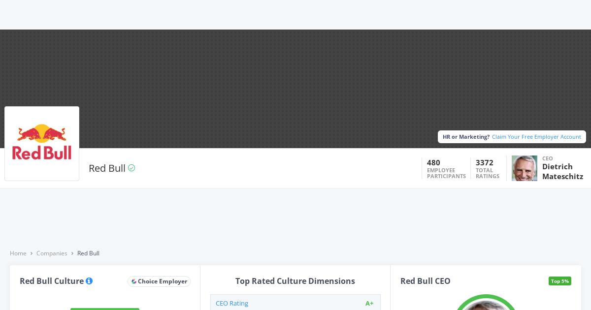 Redbull Careers