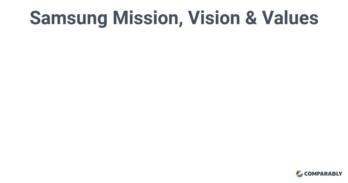 samsung vision mission