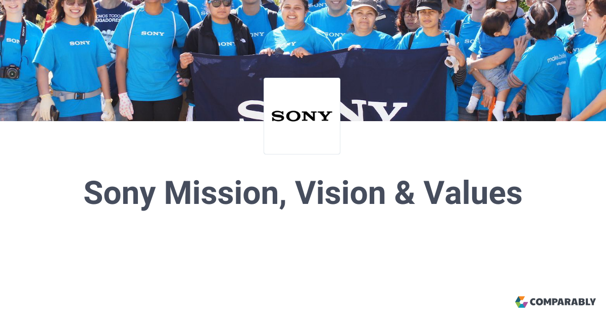 sony values statement