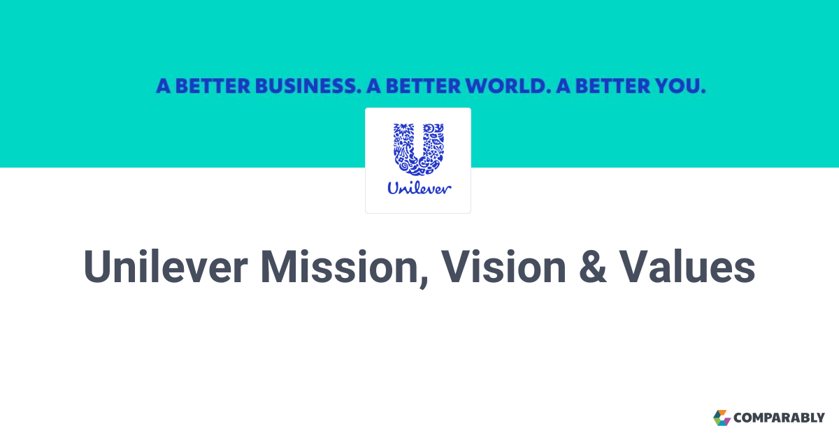 Unilever Mission, Vision & Values | Comparably